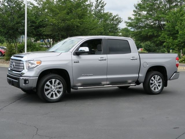 2017 Toyota Tundra 4wd Limited Crewmax Asheville Nc Area Toyota Dealer Serving Asheville Nc