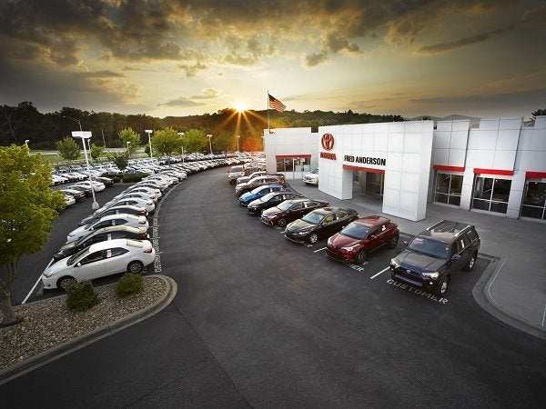 Fred Anderson Toyota Raleigh >> About Our Toyota Dealership - serving Asheville, Candler ...