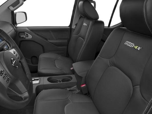 Nissan Frontier Seat Covers >> 2016 Nissan Frontier Pro Luxury Pkg